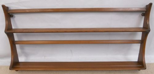 Ercol Hanging Elm Wall Rack